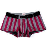 Men's Classic Striped Sexy U-shaped Design Breathable Underpants