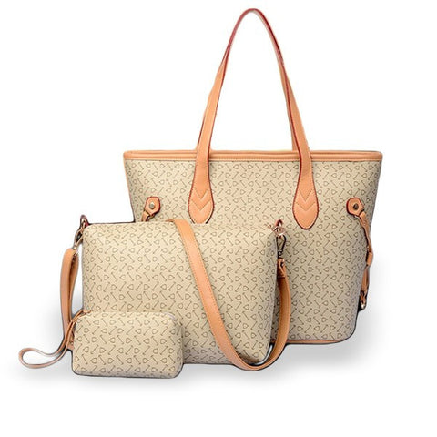 Stylish Casual PU Leather Handbag