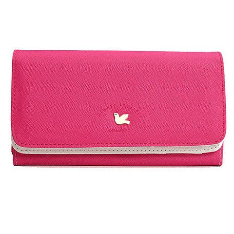 10 Card Slots Women 5inches Cellphone Wallet Cute Credit Card Holder Shoulder Bag