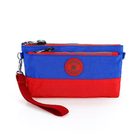 Girls Leisure Nylon Waterproof Clutches Bags Outdoor Handbag