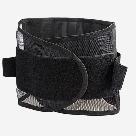 Adult Ultrathin Breathable Mesh Lumbar Support Belt Steel Plate Protection Support Waist Belt - shechoic.com