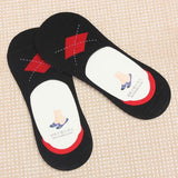 Men's Cotton Breathable Casual Ankle Non-slip Silicone Invisible Male Boat Socks