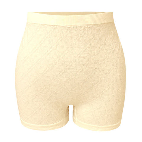 L-3XL Women Seamless Super Elastic Cotton Boyshorts High Waist Body Shaping Underwear