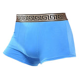 Mens Totem Golden Waistban Golden Waistband Sexy Boxers U Convex Pouch Comfortable Cotton Underwears