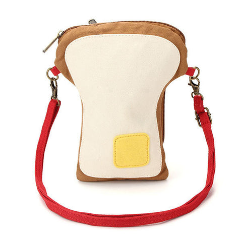 Creative Canvas Poached Eggs Mini Crossbody Bag