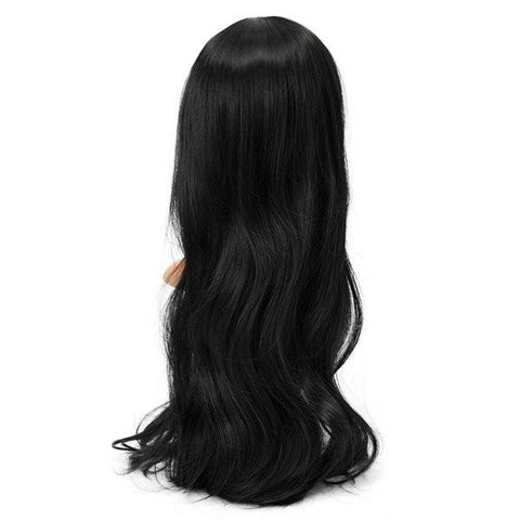 4 Colors High-Temperature Fiber Long Wavy Curly Wig Cosplay Hair Party Full Wigs