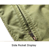 Mens Summer Cargo Pants Casual Cotton Knee Length Beach Shorts