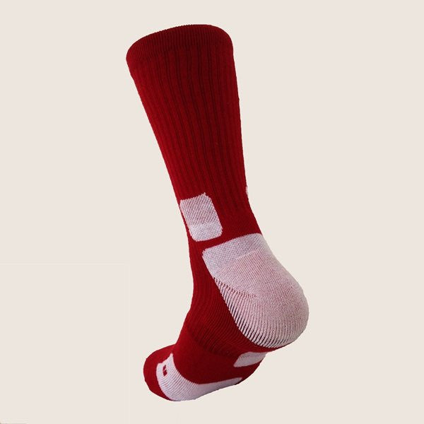 Men's Dri-fit Sports Socks Middle Tube Professional Basketball Football Quick-dry Socks