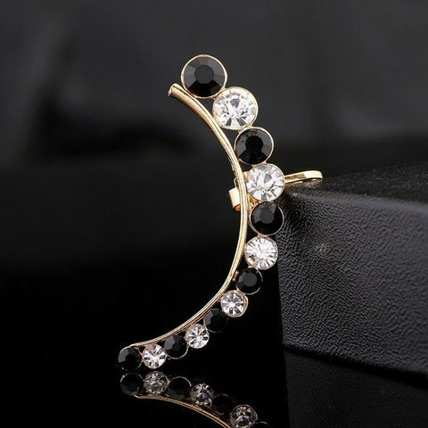 1Pc Crystal Rhinestone Ear Cuff Earring