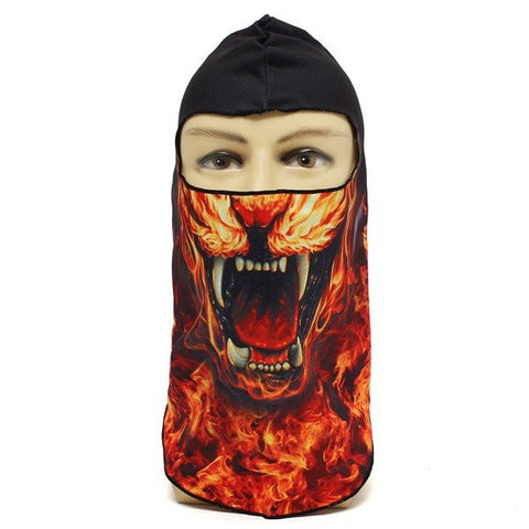 Men And Women Outdoor Cycling Bicycle Ski Neck Full Face Mask Hat Printing Mask