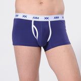 Men's Bulge Convex Pouch Boxers Comfortable Breathable Cotton Underpants Classic Underwear