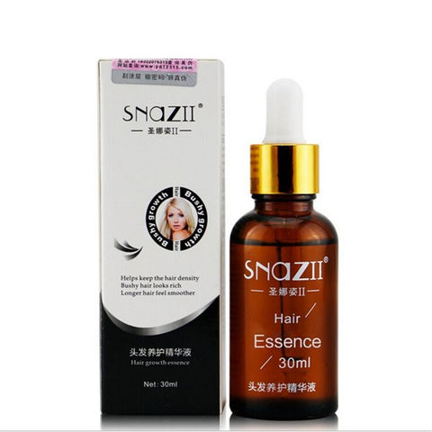 SNAZII Natural Herbal Hair Care Loss Growth Essence Essential Oil Treatment Liquid