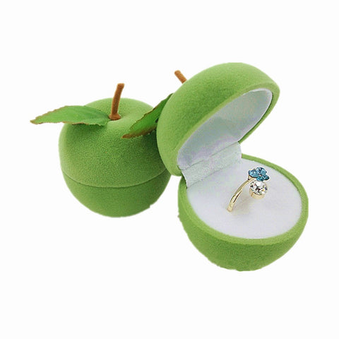 Apple Shaped Dressing Jewelry Box
