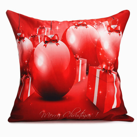 Christmas Gift Series Decorative Pillow Case Square Sofa Cushion Cover