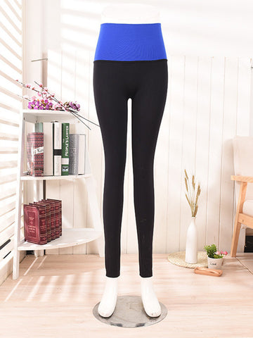 Elastic Waist Shaping Sports Ninth Pants Quick-dry Leggings For Women