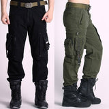Men's Cargo Pants Military Clothing Tactical Pants Multi Pockets Outdoor Camouflage Army Style Camo