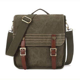KAUKKO Men Canvas Vintage Outdoor Travel Casaul Backapcks