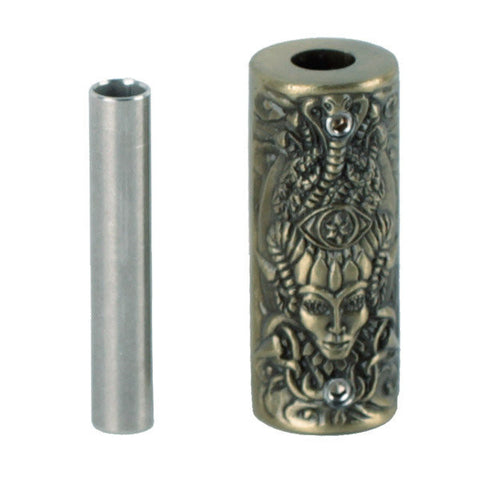 SB005 Bronze Non-slip Zinc Alloy Tattoo Grip Relief Witch