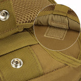Mens Army Military Nylon Outdoor Sports Running Hiking Cycling Travel 10-inch Tablet iPad Chest Bag
