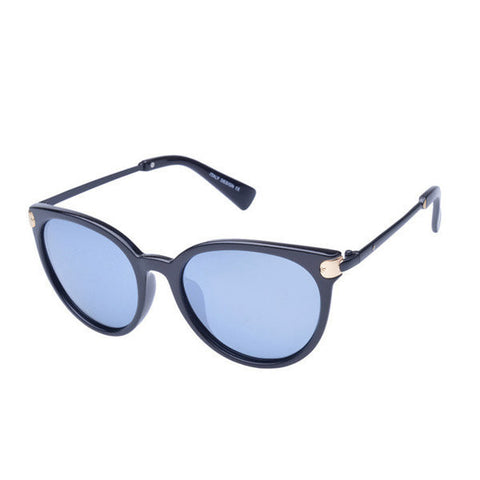 Women Polarized Sunglasses Large Frame Color Film Eyeglasses