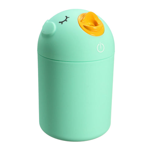 Mini Cute USB Ultrasonic Humidifier Purifier Aroma Diffuser Air Mist Aromatherapy 3 Colors