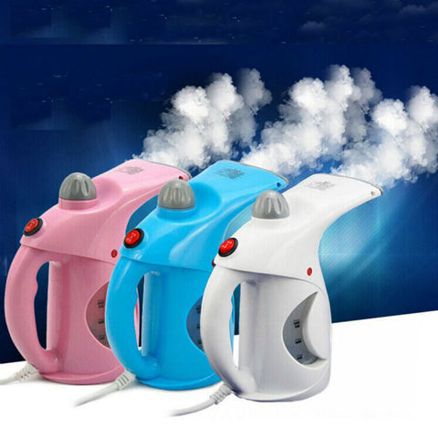 Handheld Mini Garment Steamer Facial Care Steaming Ironing Humidification