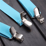 Men Women Fashion Clip-on Suspenders Elastic Y-Shape Adjustable Braces