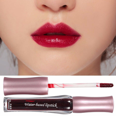 3 Colors Waterproof Water Based Long Lasting Bright Color Changing Lip Liquid Gloss Makeup