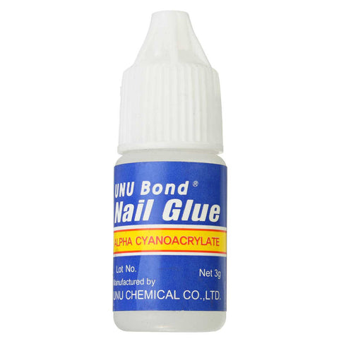 Acrylic Nail Glue Rhinestones False Manicure Tips Stickers Decoration Gel 3g
