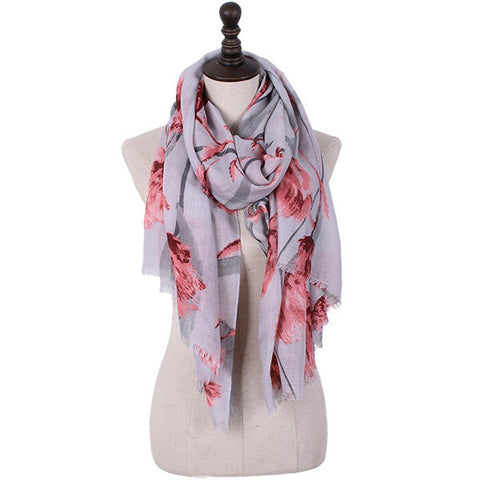 180CM Women Pashmere Solid Long Soft Scarf Angled Pattern Scarf Casual Thickening Warm Shawl Scarves