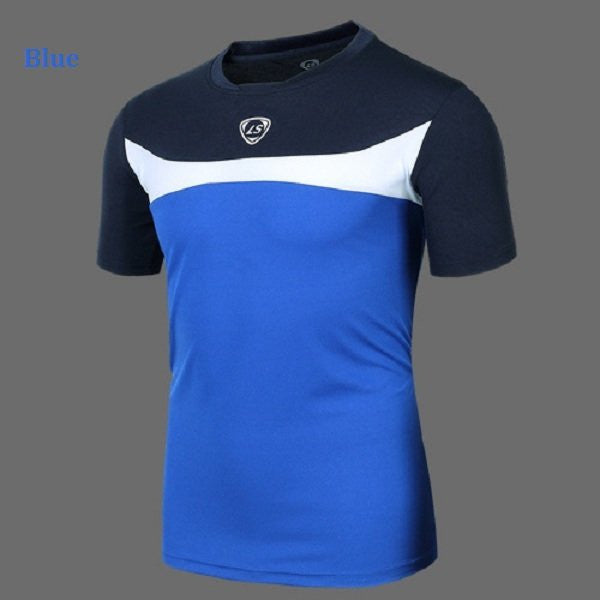 Mens Outdoor Quick Dry Sports Slim Fit Breathable Wicking Hiking T-shirt