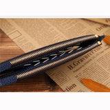 Men PU Leather Card Holder Wallet Portable Bag