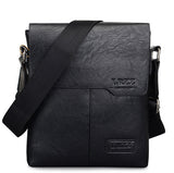 Men PU Crossbody Bag Business Bag Shoulder Bag Work Bag
