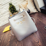 Lovely Cartoon Cat Face Cute Handbag Tote Large Capacity Shoulder Bags For Women