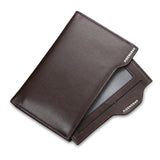 Men Multifunctional Cowhide PU Short Wallet