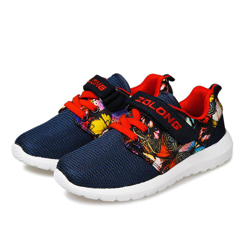 Children Running Shoes Boys Grils Sneakers Athletic Shoe Kids Casual Breathable Board Footwear