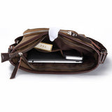 Men Retro Canvas Casual Crossbody Bag