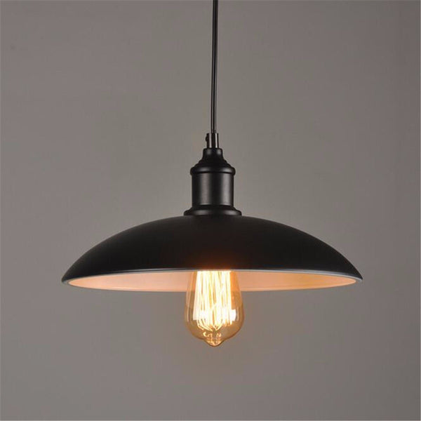 32cm Industrial Loft Vintage Ceiling Hanging Lamp Bar Living Room Coffee Shop Pendant Light