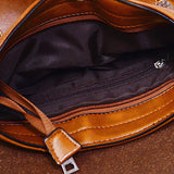 Men Business PU Various Style Casual Messenger Shoulder Crossbody Bag Briefcase