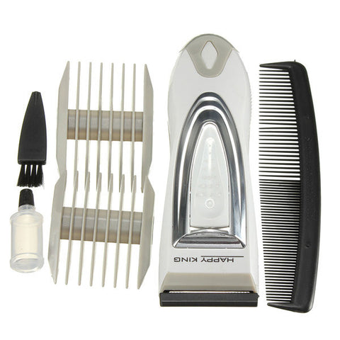 HK-A009 Electric Cordless Hair Clipper Trimmer Shaver Razor Beard Removal Men Children