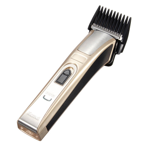 KEMEI KM-5107 Rechargeable Electric Trimmer Hair Clipper Cutter Set Men Baby