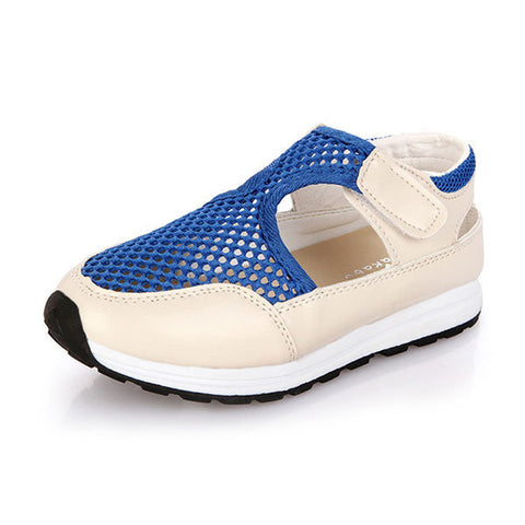 Girls Sandals Kids Mesh Breathable Shoes Children Causal Footwear Sports Shoes Sneakers