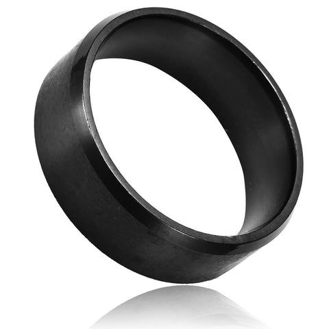 21mm Tungsten Steel No Word Round Ring
