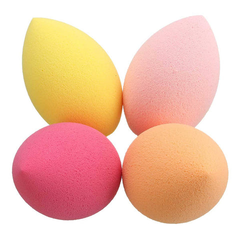 Big Oblique Head Gourd Soft Sponge Makeup Facial Puff Powder Blender Foundation