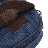 Men Women Canvas Sport Outdoor Hiking Phone Card Bag Small Crossbody Bag