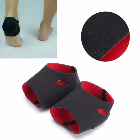 1 Pair Plantar Fasciitis Foot Arch Heel Pain Relief Sleeve Cushion Protector