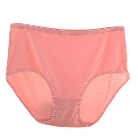 2XL-3XL Women Super Elastic Bamboo Fiber Panties Breathable High Waist Underwear - shechoic.com