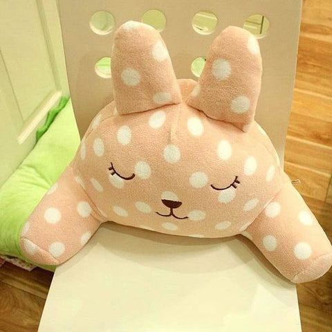 Soft Bear Rabbit Back Support Cushion