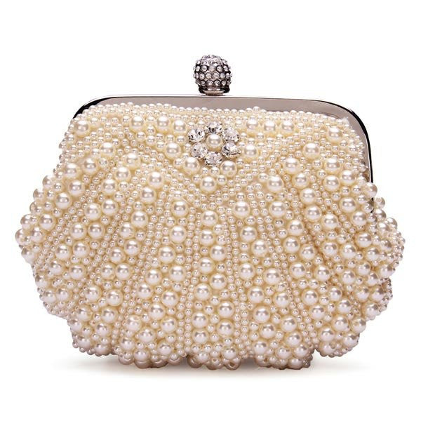 Lady Pearl Evening Party Chain Bag