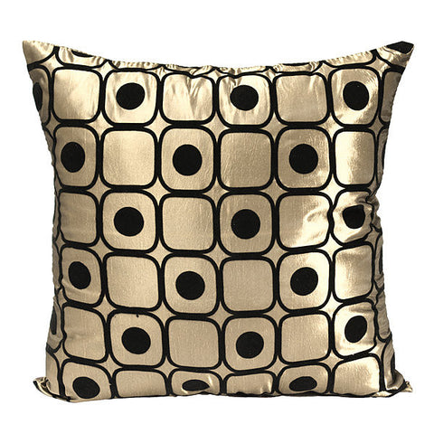 Dot Pattern Silk Pillow Throw Case Car Cushion Cover Sofa Bed Decoration